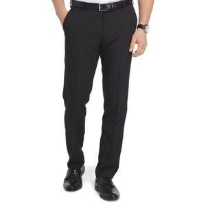 an Heusen Travelers Slim Black Pants 36 34